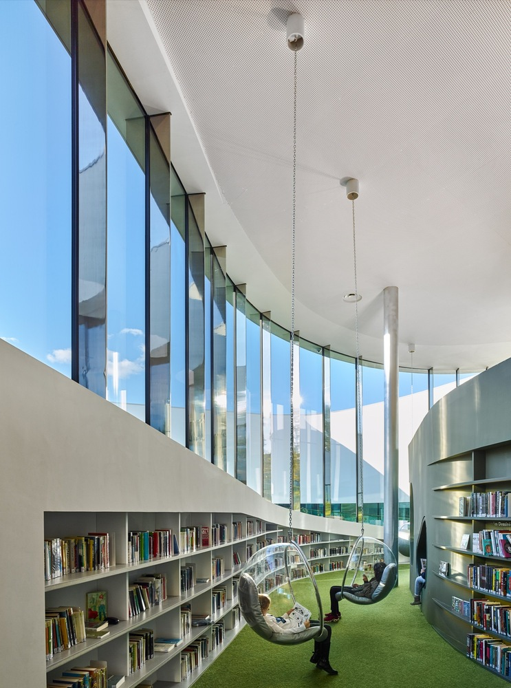 Media Library [Third-Place] in Thionville | Dominique Coulon