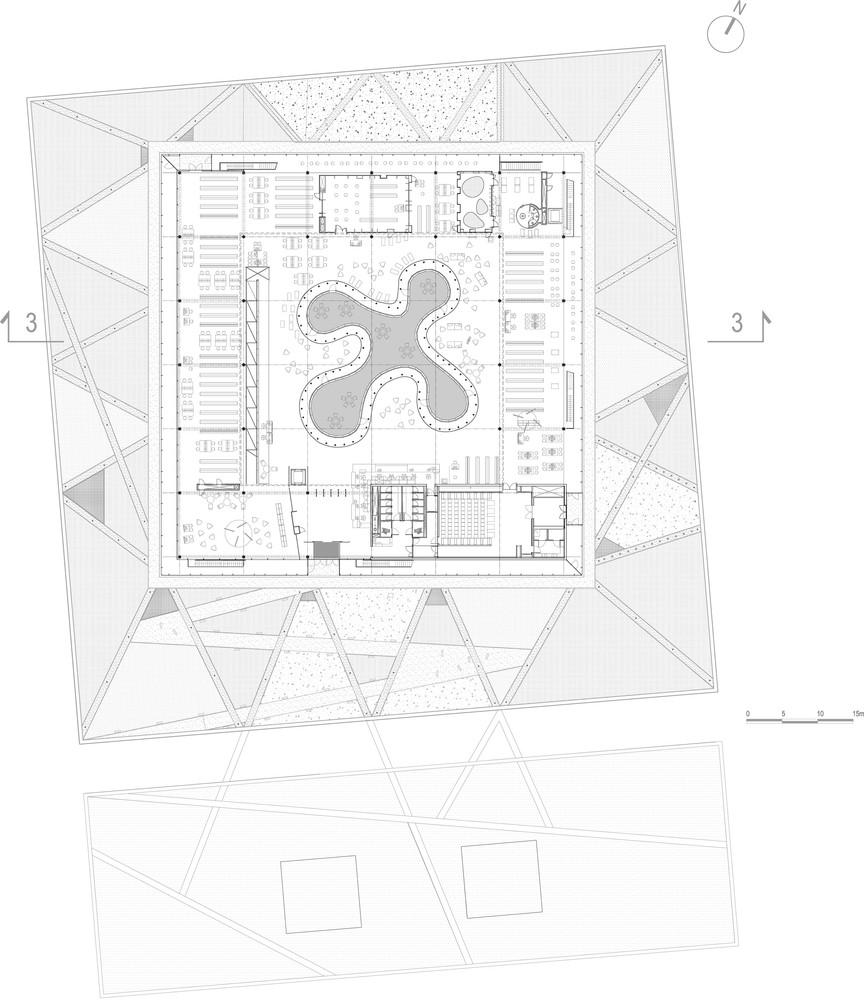 Planta Baixa Cozinha Industrial Restaurante